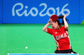Us Table Tennis Team The Table Tennis Matches In Rio Are Having Some Ball Problems