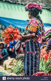 k u0027iche u0027 maya women selling flowers at the market on the steps of