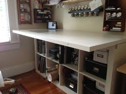 scrapbooking cabinets and workstations very organisedraft room with lots of ikea storage boxes scrapbook