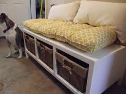 White Bench With Storage White Storage Bench Diy Projects