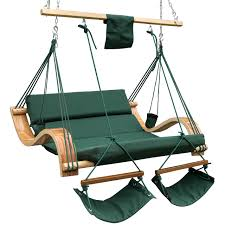 Outdoor Hanging Lounge Chair Lazydaze Hammocks Patio Garden Outdoor Deluxe Oversized Double