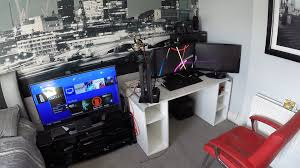 my epic gaming room tour setup youtube
