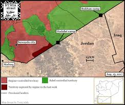 Syria Live Map by Already Displaced Syrians Flee As Airstrikes Reach Within 100