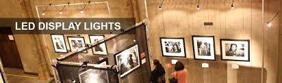 art show display lighting led display lights trade show lighting step 1 dezignsled display