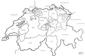 swiss outline map coloring page free printable coloring pages