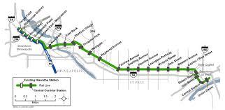 Light Rail Map Minneapolis Central Corridor Lrt Will Bring Bus Service Changes Minnpost