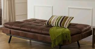 Brown Leather Sofa Bed Designer Distressed Brown Leather Sofa Bed Home U0026 Garden