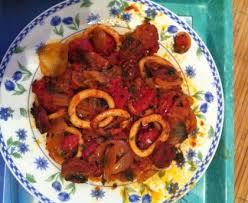 cuisiner calamar calamars au chorizo recette de calamars au chorizo marmiton