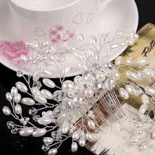 bridal hair combs imitation pearl bridal hair accessories bridal hair combs hairpin