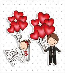 heart shaped balloons ambesonne wedding decorations style newlyweds