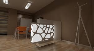 office interior 3d model rendering created by marián jurčák
