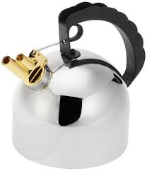 alessi kettle 9091 by richard sapper with melodic whistle nova68