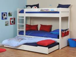 Bunk Bed With Pull Out Bed Kid S Hideaway Guest Beds Children S Room