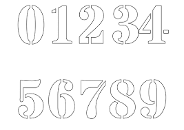 printable greek numbers number stencils shop with 1 2 half to 12 inch stencils