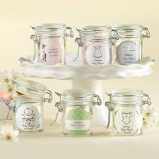 baby shower gifts for guests personalized glass baby shower favor jars favour jars shower