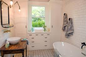Bungalow Bathroom Ideas Fixer Upper Makeover A Style Packed Small Space Hgtv U0027s