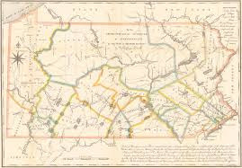 Map Of Pennsylvania Counties Maps