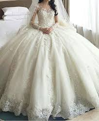 expensive wedding dresses wedding gown with royal scoop neck casamento gown
