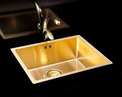 Gold Kitchen Sink Alveus Monarch Gold Kitchen Sinks And Taps