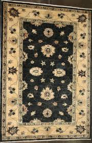 black and white floral at rug studio
