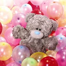 balloons with teddy bears inside me to you s official website featuring tatty teddy the blue nosed