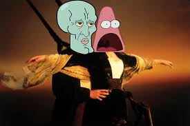 Surprised Patrick Memes - surprised patrick and handsome squidward surprised patrick