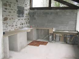 construire une cuisine d été d ete en siporex