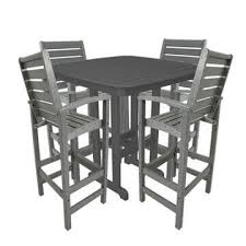 Patio Furniture Counter Height Table Sets Commerical Bar Counter Height Tables 100 American Made