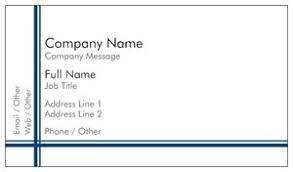 Vistaprint 9 99 Business Cards Simple Business Cards Vistaprint