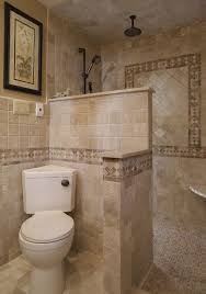 Shower In Bathroom Walk In Shower Mediterranean Bathroom Philadelphia By