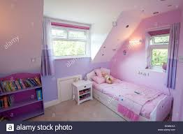 young girls pink pretty barbie bedroom stock photo royalty