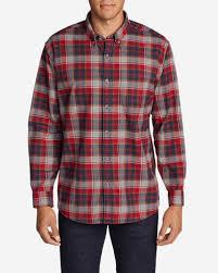 Most Comfortable Flannel Shirt Men U0027s Eddie U0027s Favorite Flannel Relaxed Fit Shirt Plaid Eddie Bauer