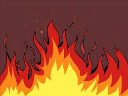 fire cartoon image christmas yule log fireplace 3 hours holiday