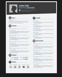 graphic design resume graphic designer resume cv vector