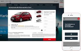 toyota desktop site toyota italy boosts online quote requests sophus3 analyse