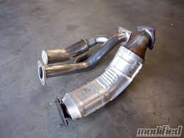 nissan 370z test pipes motordyne advanced resonance tuning test pipes tech modified