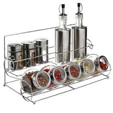 amazon com all in 1 stainless steel condiment set with 2 oil
