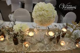 vintage reception table decor for vintage wedding theme table