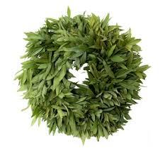 herb wreath fresh three herb wreath mcfadden farm