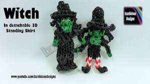 halloween witch pot rainbow loom halloween witch action figure charm izzalicious