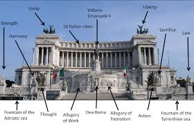 wedding cake building rome monument to vittorio emanuele ii in rome 30 sculptures on italy s