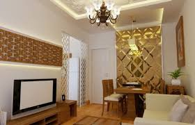 apartment luxurious golden scheme of contemporary apartment