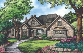 plan of the week the chesnee 1290 open layout house and craftsman
