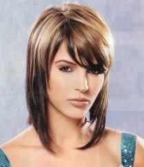 medium razored layered haircut women medium haircut