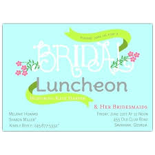 bridesmaids luncheon invitations bridesmaids luncheon invitations front ezpass club