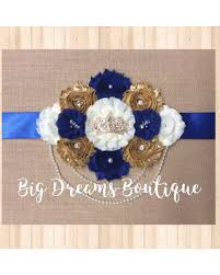 baby shower sash don t miss this deal prince maternity sash royal baby shower