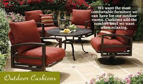 Comfortable Patio Furniture Cushions For Outdoor Furniture And Patio Furniture