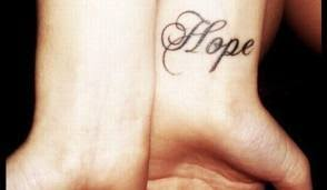 hope tattoos and designs hope tattoo meanings ideas and pictures