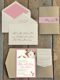 Paper For Wedding Invitations Custom Wedding Invitations Willow Springs Bicycle Paper Designs