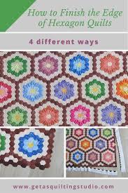 best 25 hexagon quilting ideas on pinterest hexagon quilt